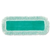 """RUBBERMAID 18"""" Commercial Microfiber Dust Pads - Green"""