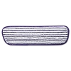 """18""""Commercial Microfiber Finish Pad - Blue/White"""