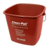 SAN JAMAR  Kleen-Pail® Sanitizing Pail - Red, 8 Qt.