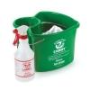 SAN JAMAR  Kleen-Pail® Caddy™ Sanitizing Pail w/ Spray Bottle -