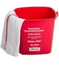 RUBBERMAID Kleen-Pail® Sanitizing Pail - Red, 3 Qt.