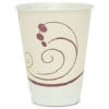 SOLO CUP Trophy® Insulated Thin-Wall Foam Hot/Cold Drink Cups in Symphony™ Design - 8 OZ