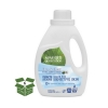 SEVENTH GENERATION Natural 2X Concentrate Liquid Laundry Detergent - Free & Clear, 50 oz ,6/Ctn