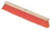 "SSS 18"" Push Heavy Bristles Broom - 12/CS."