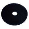 "SSS Black Stripping Floor Pad - 11"", 5/Cs."