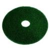 "SSS Green Scrubbing Floor Pad - 12"", 5/Cs."