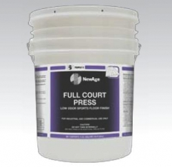 SSS 32001 - SSS NewAge Full Court Press Low Odor Sports Floor Finish - 5 Gallons / 1 Pail