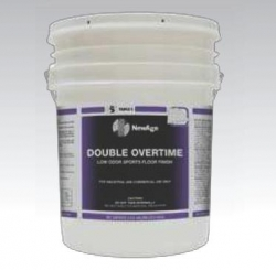 SSS 32002 - SSS NewAge Double Overtime Sports Floor Finish - w/X-Link, 5 Gallons / 1 Pail