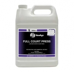 SSS 32005 - SSS NewAge Full Court Press Low Odor Sports Floor Finish - 3 Gallons / Pail