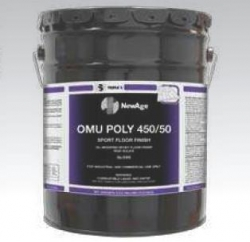 SSS 32011 - SSS NewAge OMU Poly 450/50 Sport Floor Finish, Gloss - 5 Gallons / 1 Pail