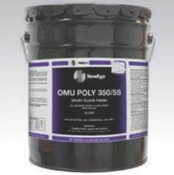 SSS 32013 - SSS NewAge OMU Poly 350/55 Sport Floor Finish, Gloss - 5 Gallons / 1 Pail
