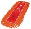 "SSS Endless Twist Colored Orange Dust Mop - 5"" x 60"""