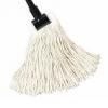 "SSS #16 Value Plus Cotton Cut-End Wet Mop - 1-1/4"" Headband, Natural"