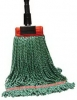 SSS MicroTec Looped End Wet Mop - Lg., Green, 5
