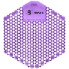 SSS Surge 3D Urinal Screen - Loud Lavender, 6x10/Cs.