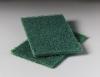 "SSS 6""x9"" Hand Floor Pad Green HD Scouring - 15/CS"