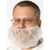 SSS White Beard Covers - Large, 10 bags of 100/Cs.