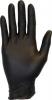 SSS SAFETY ZONE Nitrile Powder-Free Gloves - 4.3 Mil., Black, Small, 100/Box, 10 Box/Cs