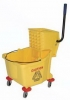 SSS GS Side Press Wringer Bucket Combo - 26-32 QT, Yellow
