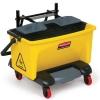 SSS Rubbermaid HYGEN™ Pedal Wring Bucket - Yellow