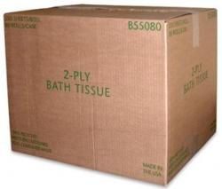 SSS VNDB55080PLT - SSS VND Bath Tissue - 2-Ply, 550
