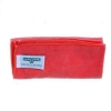 UNGER MicroWipe™ UltraLite Microfiber Cleaning Cloth - 200 Series, Red