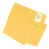 UNGER SmartColor MicroWipe™ Heavy Duty Cleaning Cloth - 4000 Series, Yellow