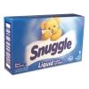 Snuggle® Blue Sparkle HE Liquid Fabric Softener - Original, 1 Load Vend-Box, 100/Carton