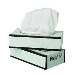 Wausau Baywest Facial Tissue - EcoSoft™ Green Seal™