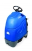 "Windsor Chariot 20"" iScrub Stand-On Automatic Scrubber - 3-12/V 130 A/H batteries, 21A Automatic charger w/ Poly Brush"